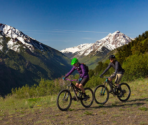 mountain biking in aspen snowmass