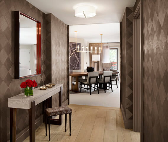 the little nell aspen iselin suite entry