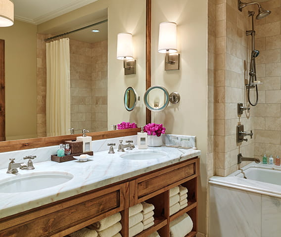 residences at the little nell aspen hotel bathroom