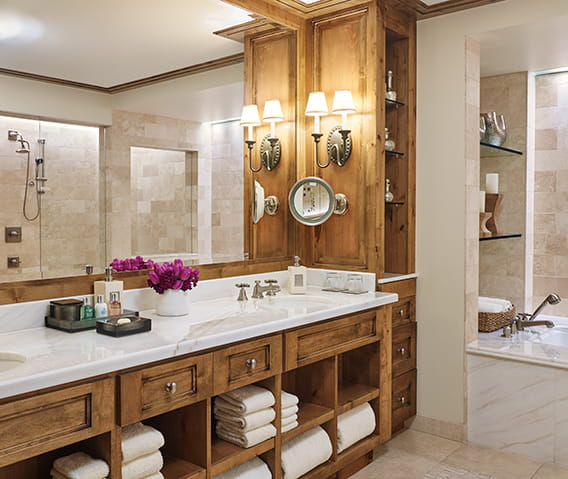 residences at the little nell aspen bathroom