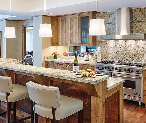 residences at the little nell aspen kitchen