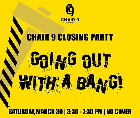 Chair 9 Closing Party