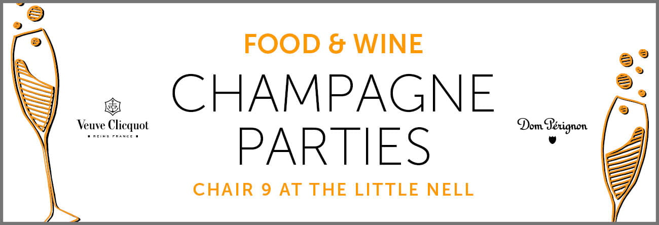 Food & Wine Champagne Parties 2018