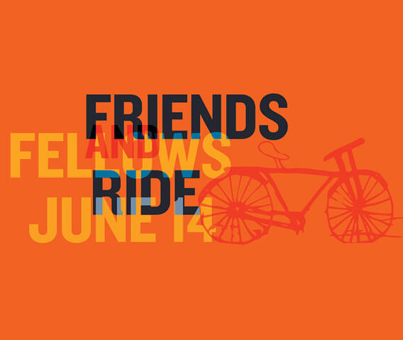 friends and fellows ride at the little nell