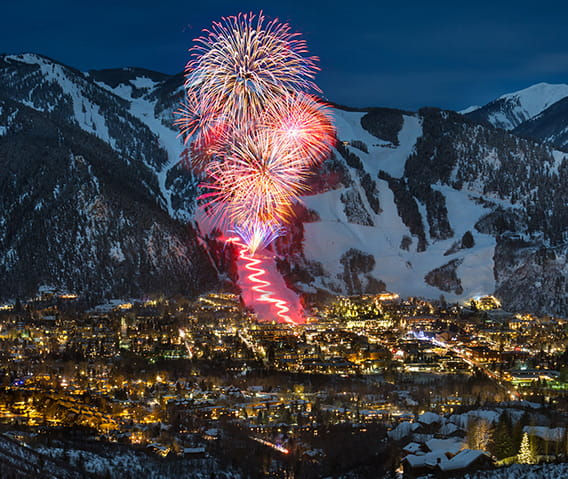 aspen new years eve fireworks nell