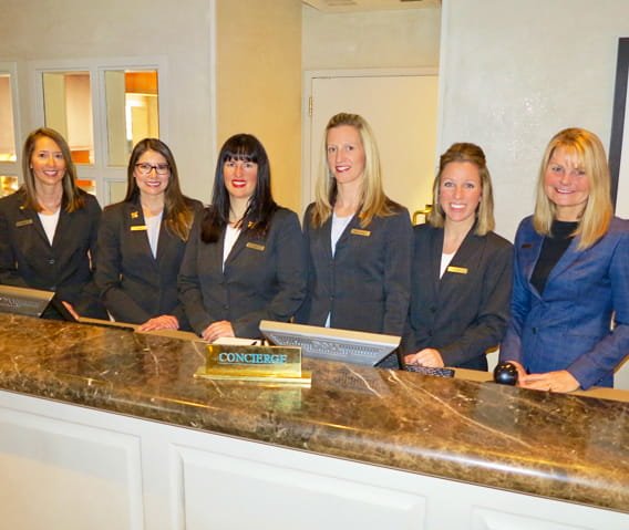 high end hotel concierge services the little nell