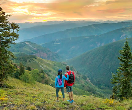 Click here to learn more about The Little Nell's concierge services, including recommendations on hiking trails in Aspen, Colorado.