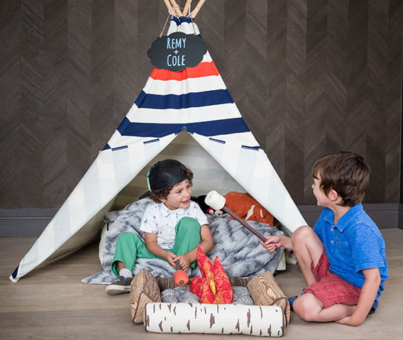 teepee at the little nell