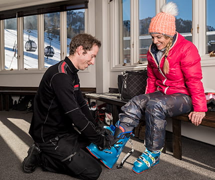 Ski Concierge Boot Assistance