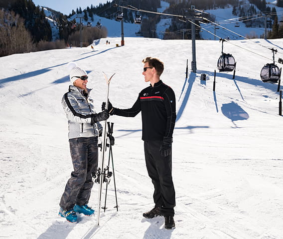 The Little Nell Ski Concierge Mountainside Service