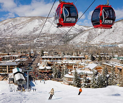 Click here to learn more about Aspen's only ski-in/ski-out hotel.
