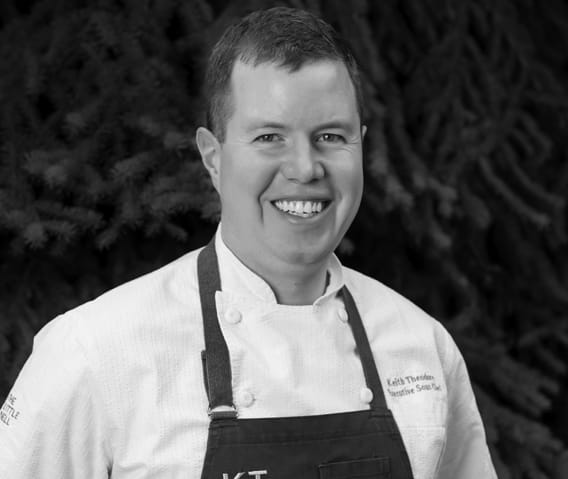 chef keith theodore at the little nell in aspen