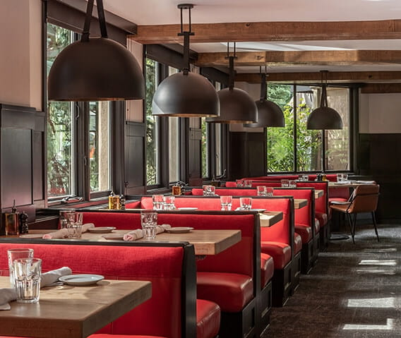 Click here to learn more about Ajax Tavern, The Little Nell's casual fine dining restaurant at the base of Aspen Mountain.