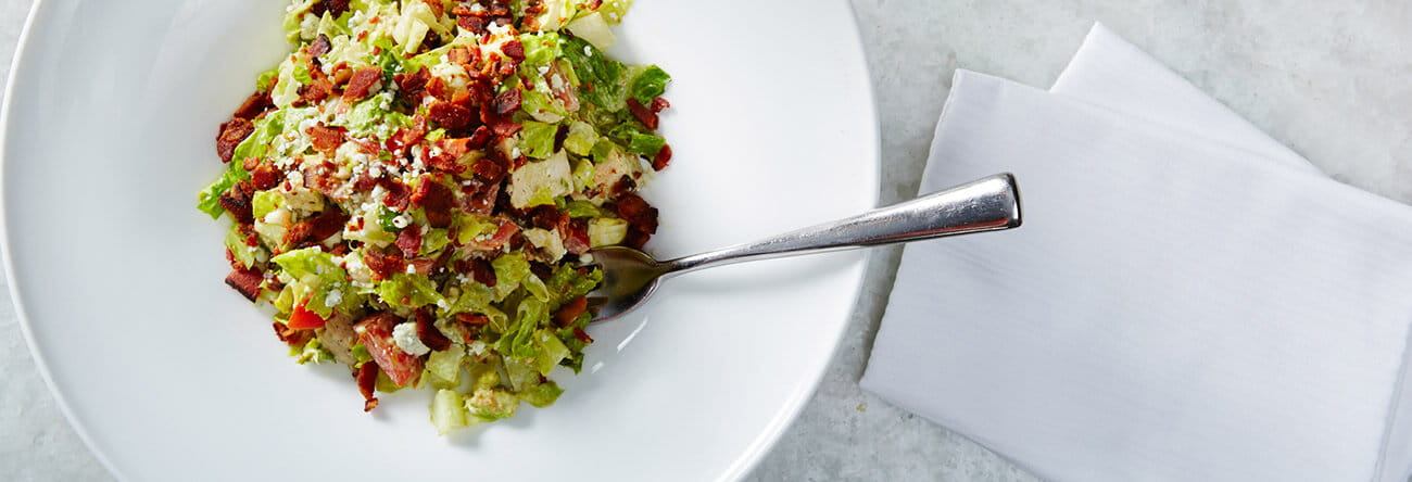 Nourish by The Nell includes Element 47's most popular lunch item, the Cobb salad.