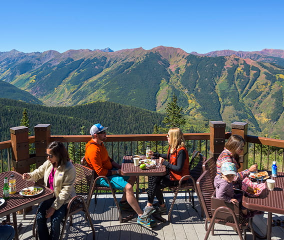 aspen mountain sundeck