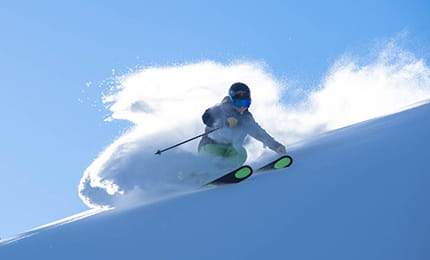 skiing winter adventures powder cat tours