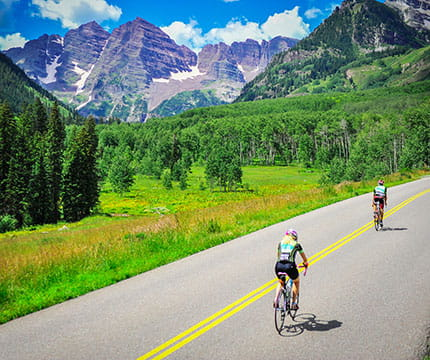 Summer Biking in Aspen