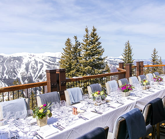 aspen mountain club deck