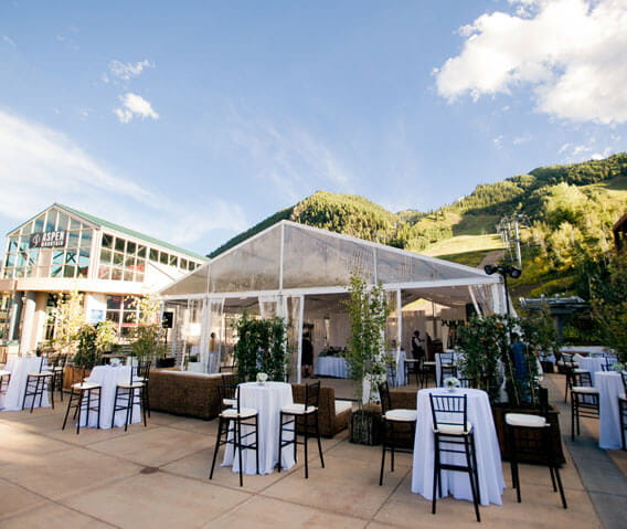 aspen mountain gondola plaza private events