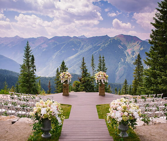 Click here to learn more about summer weddings at The Little Nell in Aspen, Colorado.