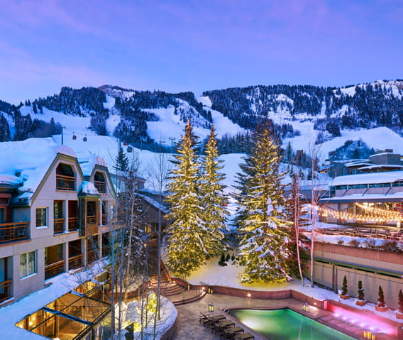Welcome To Our Luxury 5 Star Aspen Colorado Hotel The Little Nell
