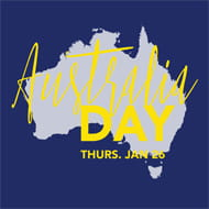 Australia day in Aspen Snowmass
