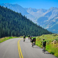 clip-in with christian cycling camp in aspen