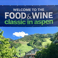 food and wine classic in aspen
