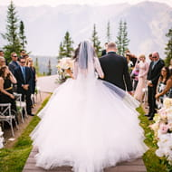 the little nell hotel aspen weddings events aspen mountain club wedding deck