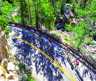 cycling indy pass scenic aspen