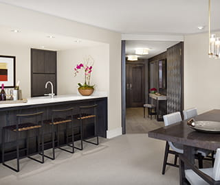 benedict suite suite living room