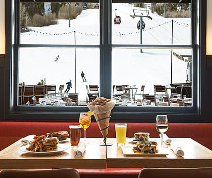 Click here to learn more about dining options at The Little Nell hotel in Aspen, Colorado.