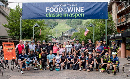 the little nell and blackberry farm friends and fellows ride in aspen