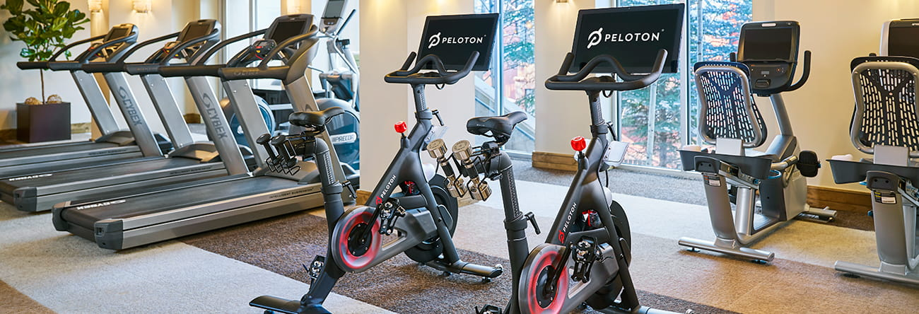 Residences Fitness Room Cardio Area Peloton