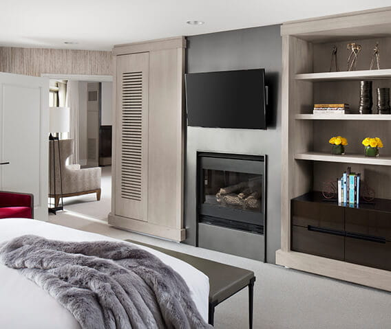 the little nell aspen benedict suite bedroom