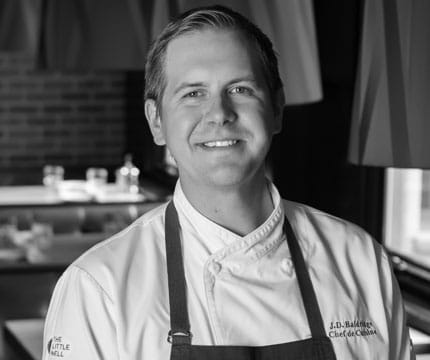 jd baldridge chef at ajax tavern in aspen