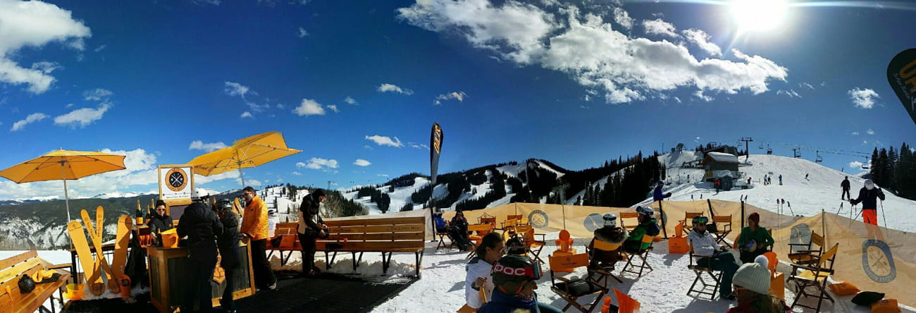 Oasis Champagne Bar - Where is aspen