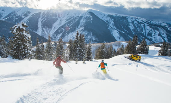 skiing & winter adventures with the little nell in aspen, colorado
