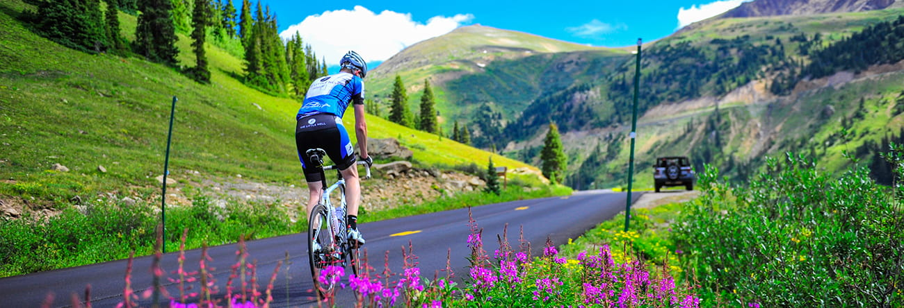 biking in aspen colorado
