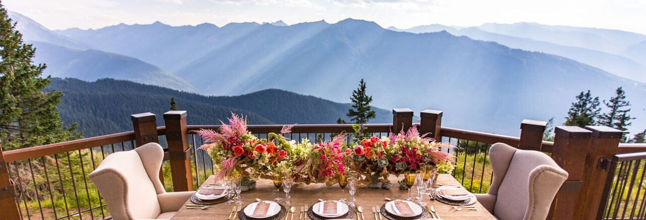aspen weddings and events the little nell