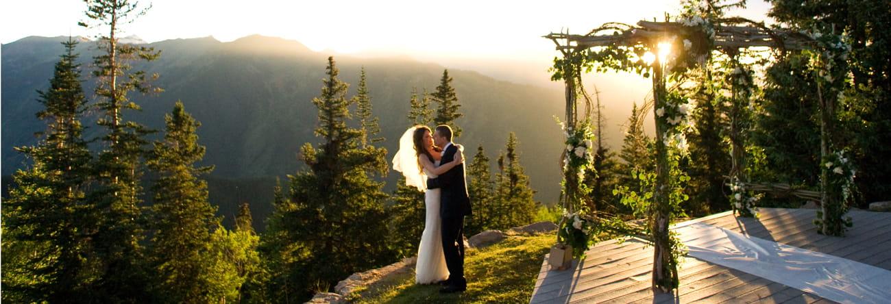 Aspen Wedding Deck Wedding Deck Rental The Little Nell