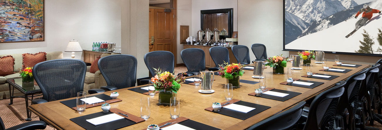 the little nell boardroom