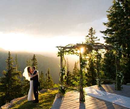 Breathtaking aspen colorado wedding venues the little nell for Best colorado wedding venues