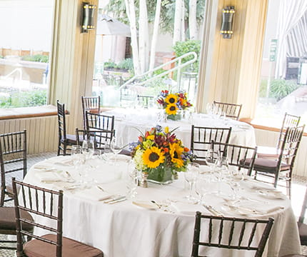 terrace room little nell events