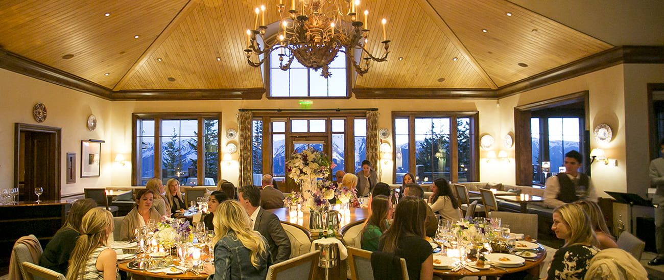 aspen mountain club wedding