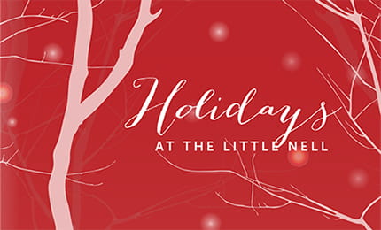 holidays at the little nell