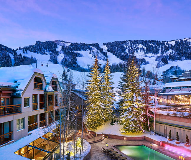 Welcome To Our Luxury Star Aspen Colorado Hotel The Little Nell - Where is aspen